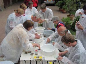 Workshop voor docenten en onderzoekers van Wageningen UR in het Arboretum van Wageningen